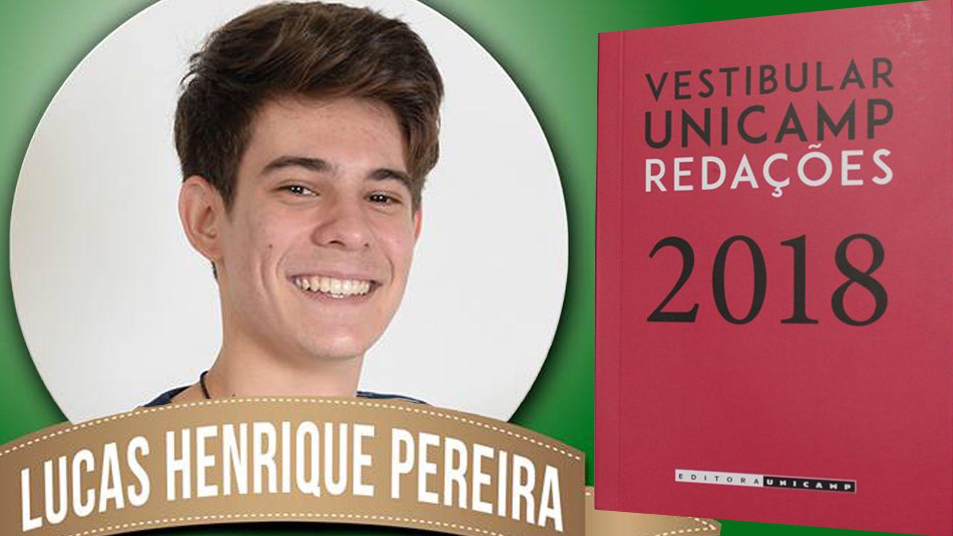 Aluno do Colégio Santa Úrsula é destaque em redação do vestibular Unicamp