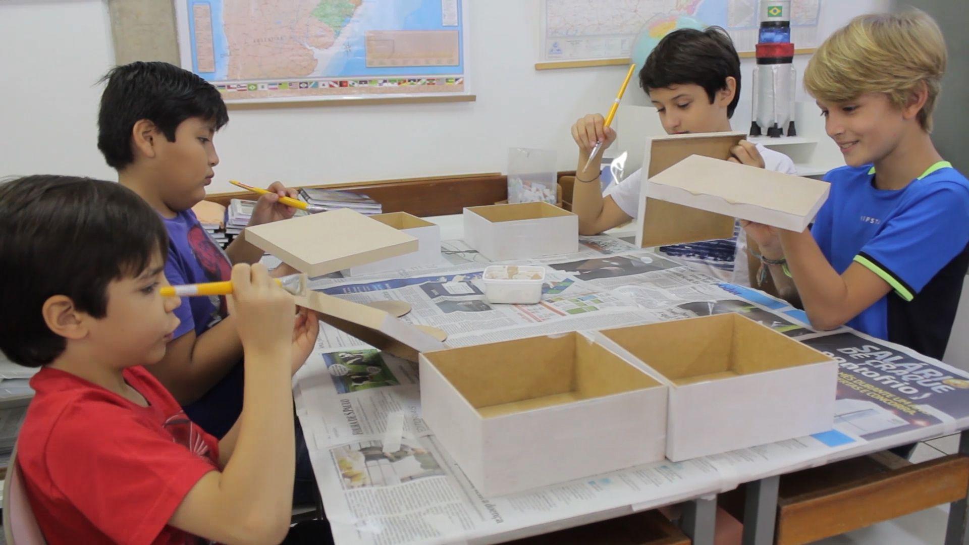 Manhã de Criatividade é realizada com as turmas do Fundamental I no colégio