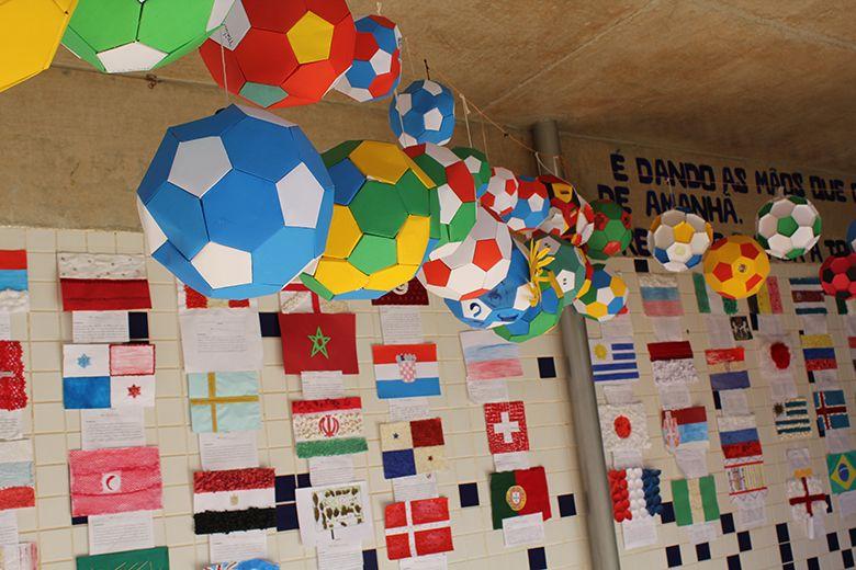 Copa do mundo: alunos dos 5º anos realizam trabalho interdisciplinar sobre o tema