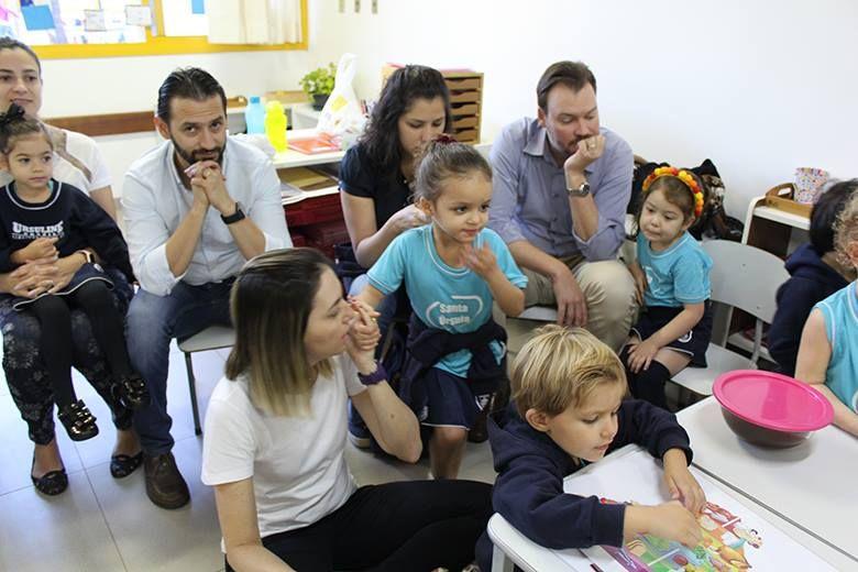 Semana da família com os pais do Colégio Santa Úrsula, confira alguns cliques