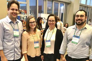 Representantes do Colégio Santa Úrsula participam do congresso de neurociência