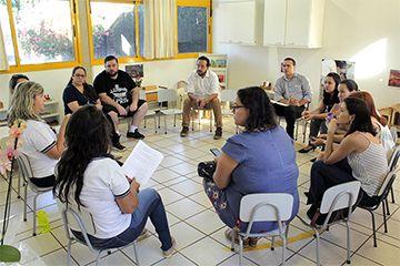 Professoras do Berçário receberam os pais para a entrega e conferência dos materiais