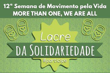 O colégio lança hoje a campanha Lacre da Solidariedade