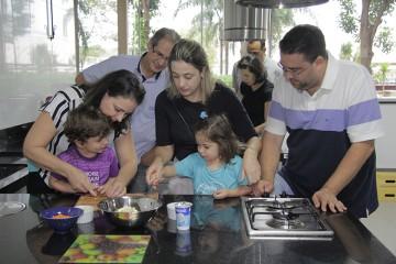 Semana da família na Educação Infantil. Confira as fotos desta quinta-feira
