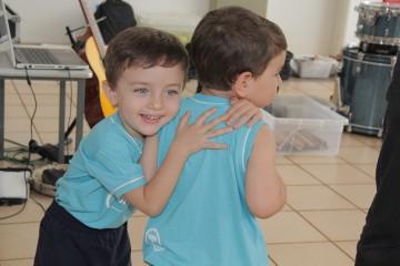 Confira algumas fotos do terceiro dia da Semana da Família com os alunos do Berçário