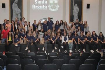 Veja a cobertura completa do intercâmbio da Ursuline Academy of Dallas no Brasil