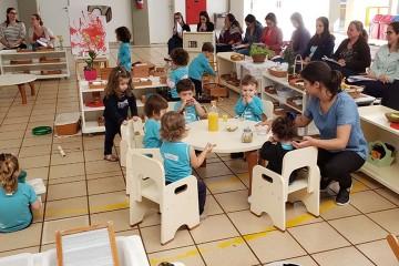 Professoras do Colégio Santa Úrsula participam de mais uma etapa de Curso de Especialização em Montessori