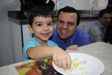 Último dia de atividades na Semana da Família com os pais do Infantil, confira