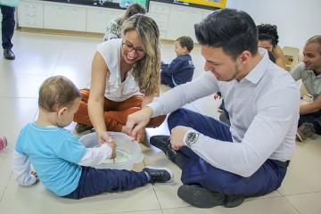 Começou hoje o primeiro dia da Semana da Família com as turmas do Berçário
