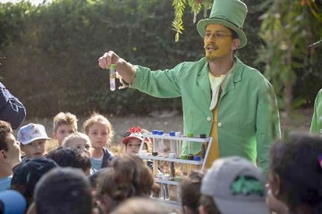 Dia do Folclore com as turmas do Infantil