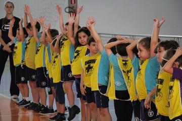 Turmas da Educação Infantil participam de gincana em homenagem ao mês de Santa Úrsula