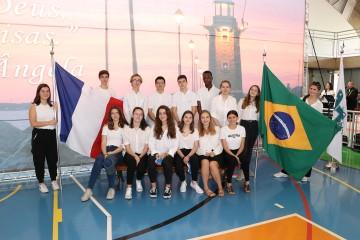 Colégio recebe delegação de intercâmbio da escola Ursulina de Paris, Sainte Ursule - Louise de Bettignies