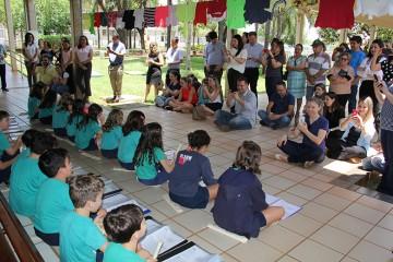 Momentos emocionantes com as famílias dos 3ºs anos do Ensino Fundamental (I) Anos Iniciais