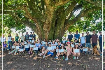 Grupo de Intercâmbio visita o Sítio Santa Ângela