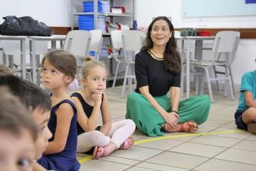 Professoras Francesas participam de aula com alunos do Período Integral Bilíngue