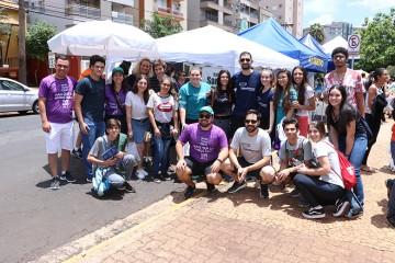 A equipe pedagógica do Colégio Santa Úrsula esteve presente no primeiro dia de prova do ENEM