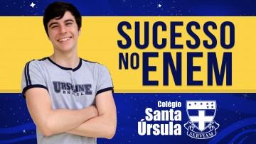 SUCESSO NO ENEM: Henrique Nobile