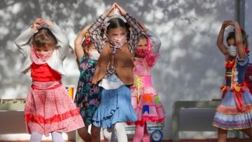 Tradição junina é resgatada nas aulas de música do Colégio Santa Úrsula