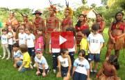 Infantil visita tribo indígena em Barrinha