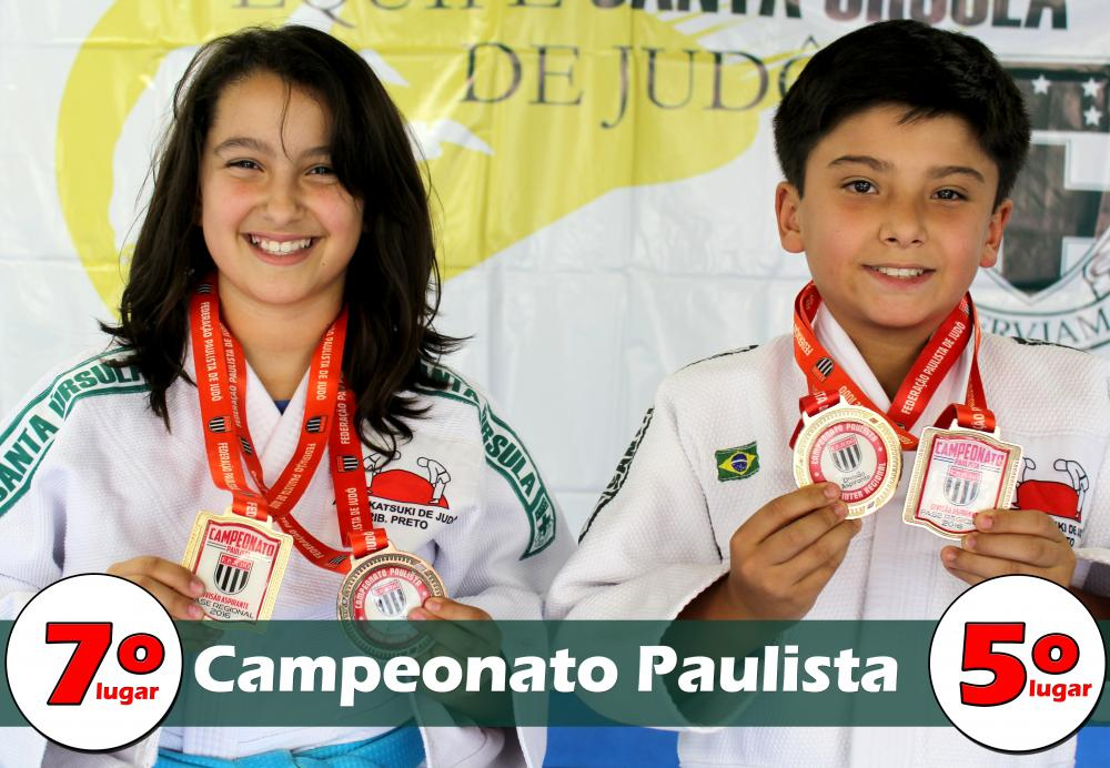 Alunos do colégio são destaque no Campeonato Paulista de Judô