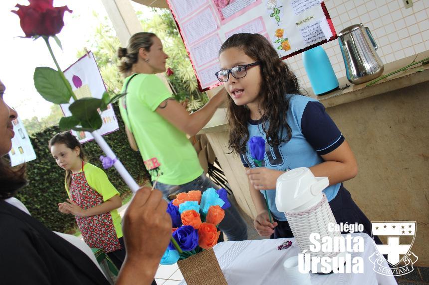 Confira a feira de vegetais com os alunos do Fundamental I